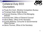 collateral duty eeo counselors