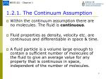 1 2 1 the continuum assumption1