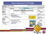 your account profile