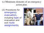 c minimum elements of an emergency action plan1