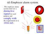 d employee alarm system1