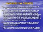 business tax credits1