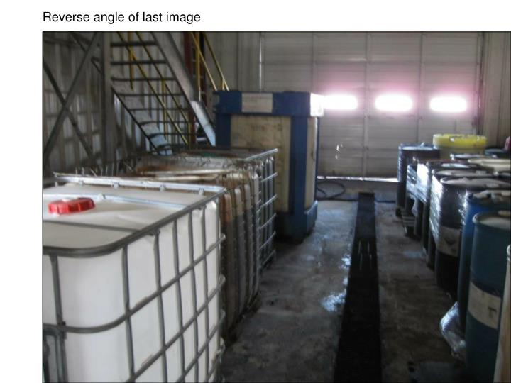 Reverse angle of last image