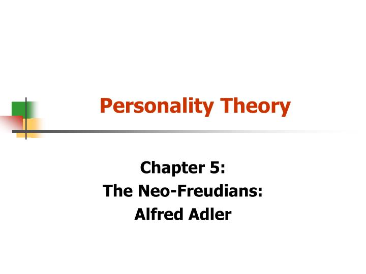 personality theory n.