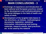 main conclusions 3