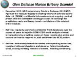 glen defense marine bribery scandal