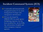 incident command system ics