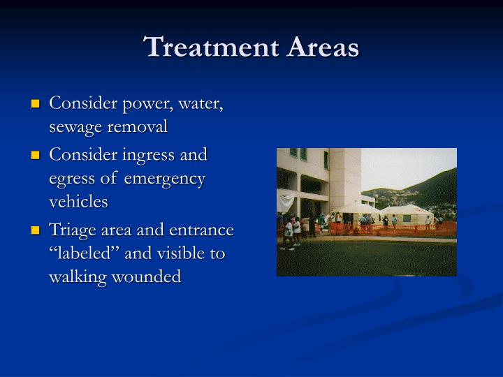 Treatment Areas