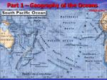 part 1 geography of the oceans2
