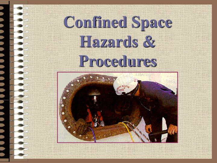 confined space hazards procedures n.