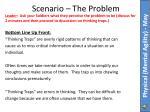 scenario the problem