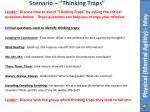 scenario thinking traps1