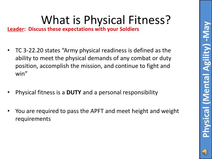 what is physical fitness n.