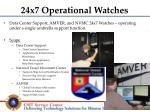 24x7 operational watches