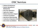 osc services