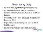 about jenny craig