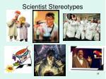 scientist stereotypes