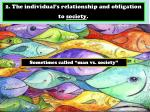2 the individual s relationship and obligation to society