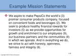 example mission statements1