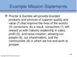 example mission statements3