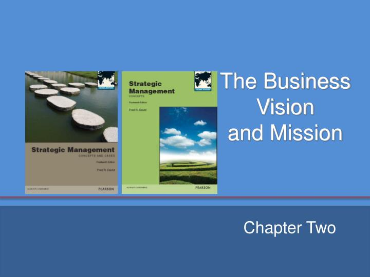 the business vision and mission n.