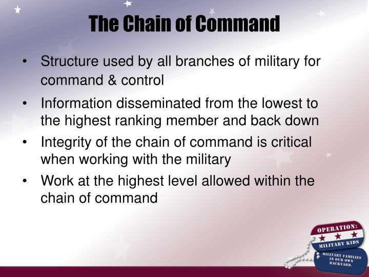 The Chain of Command