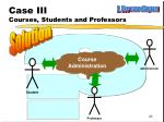 case iii courses students and professors2