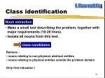 class identification1