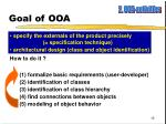 goal of ooa