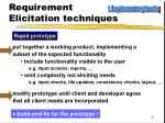 requirement elicitation techniques2