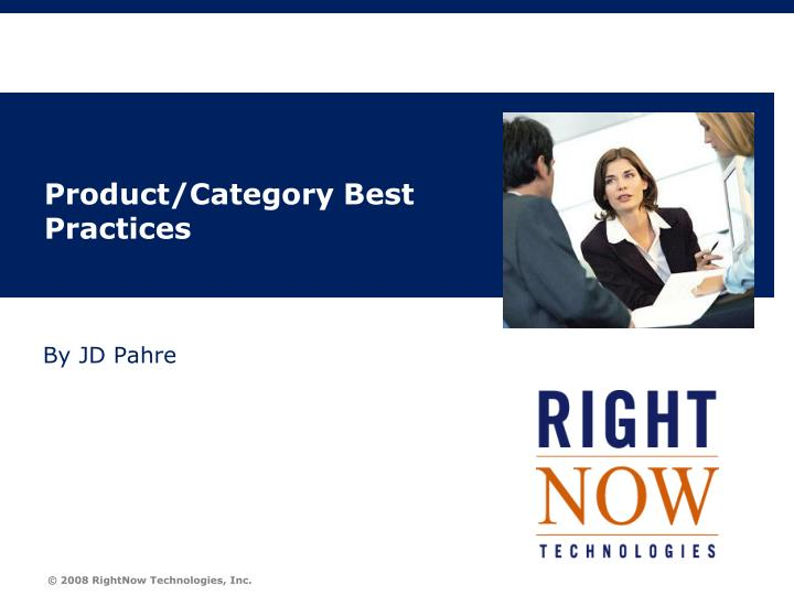product category best practices n.