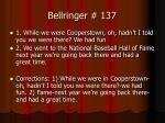 bellringer 137