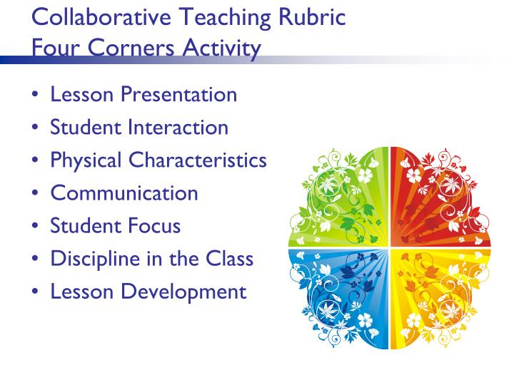 Collaborative Teaching Rubric