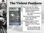 the violent panthers
