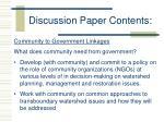 discussion paper contents3