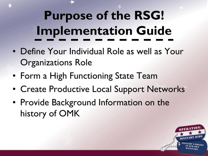 Define Your Individual Role as well as Your Organizations Role