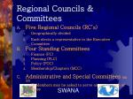 regional councils committees