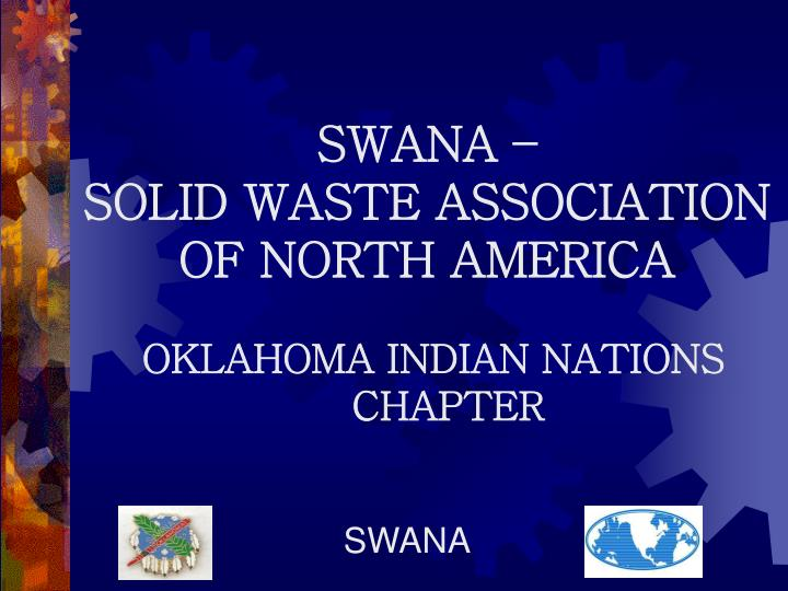swana solid waste association of north america n.
