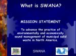 what is swana
