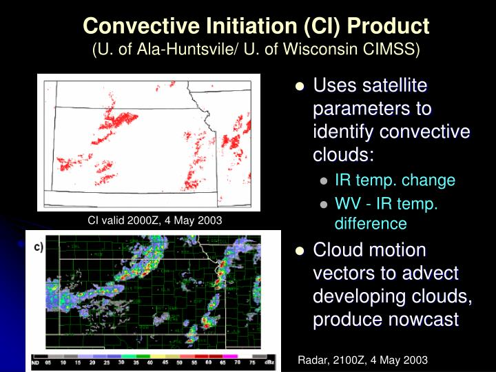 Convective Initiation (CI) Product