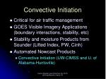 convective initiation