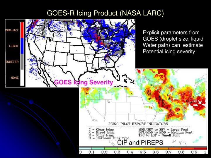 GOES-R Icing Product (NASA LARC)