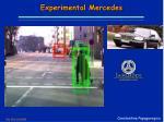 experimental mercedes