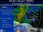 hi res model wrf forecast radar instability3