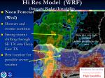 hi res model wrf forecast radar instability4