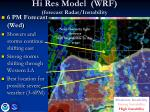 hi res model wrf forecast radar instability6