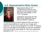 u s representative betty sutton
