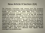 new article x section 2 a
