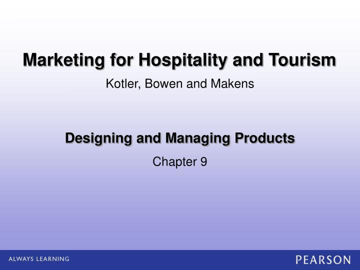 designing and managing products n.