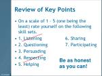 review of key points1